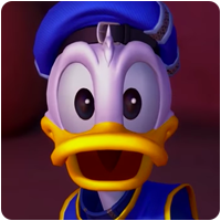 Donald Duck Kingdom Hearts