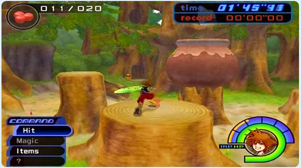Kingdom Hearts 100 Acre Wood - Tigger's Giant Pot Mini Game