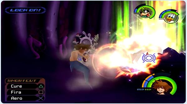 Kingdom Hearts Atlantica - Sora battles Ursula, Flotsam, & Jetsam