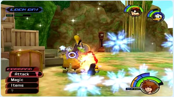 Kingdom Hearts Deep Jungle - Sora battles Sabor at the Camp Site