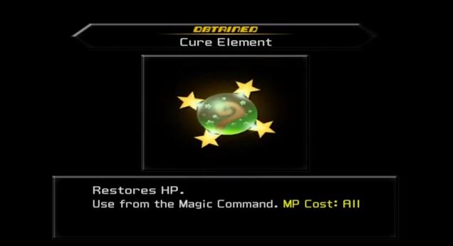 KH2 - Cure Element