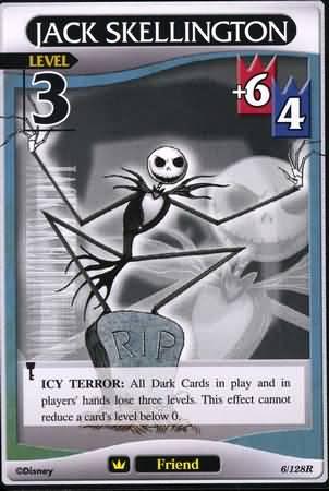 #006 jack skellington Lv3 friend card