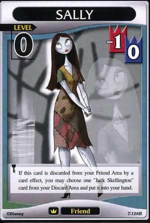 #007 sally Lv0 friend card