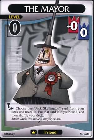 #008 The Mayor Lv0 friend card