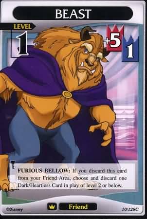 #010 beast Lv1 friend card