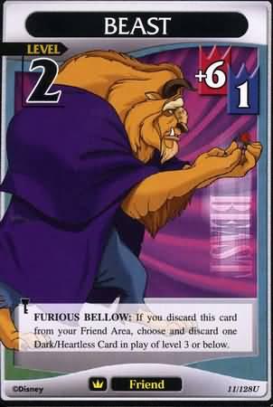 #011 beast Lv2 friend card
