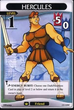 #013 hercules Lv1 friend card