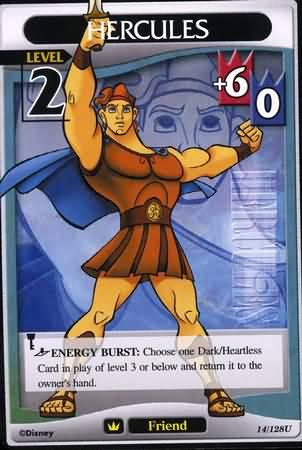 #014 hercules Lv2 friend card