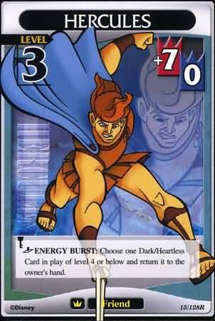 #015 hercules Lv3 friend card