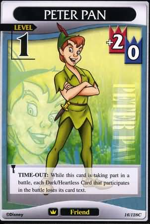 #016 peter pan Lv1 friend card