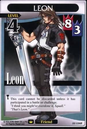 #032 squall leon Lv4 friend card