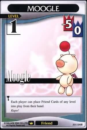#033 moogle Lv1 friend card