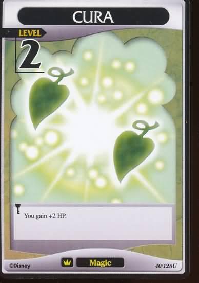 #040 cura Lv2 magic card