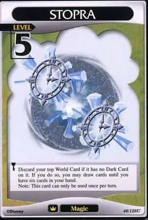 #046 stopra Lv5 magic card