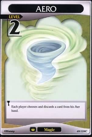 #048 aero Lv2 magic card