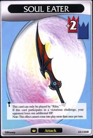 #053 soul eater keyblade khtcg card