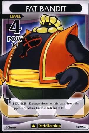 #060 fat bandit heartless khtcg card