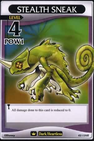 #062 stealth sneak heartless khtcg card