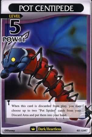 #065 pot centipede heartless khtcg card
