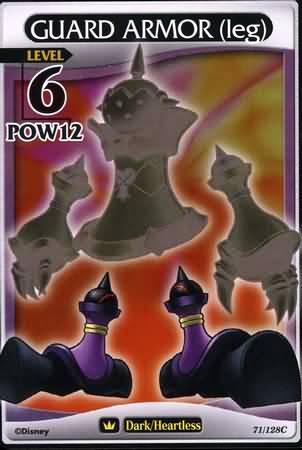 #071 guard armor legs heartless khtcg card