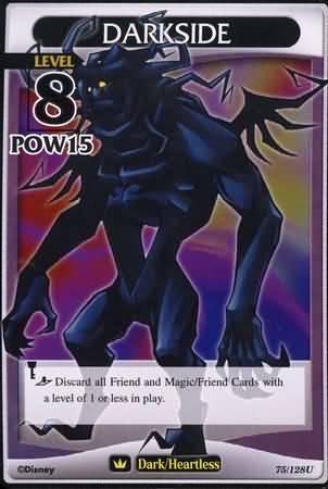 #075 darkside heartless khtcg card