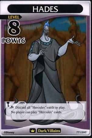 #077 hades heartless khtcg card