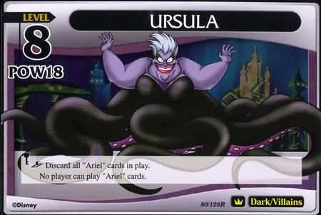 #080 ursula heartless khtcg card
