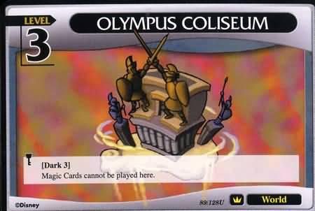 #089 olympus coliseum lv3 world khtcg card