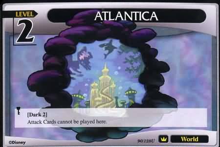 #090 atlantica lv2 world khtcg card