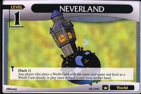 #093 neverland lv1 world khtcg card