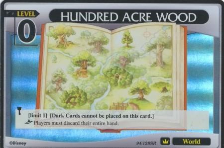 #094 hundred acre wood lv0 world khtcg card