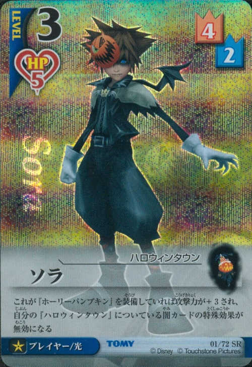 #01 Sora halloween town Lv3
